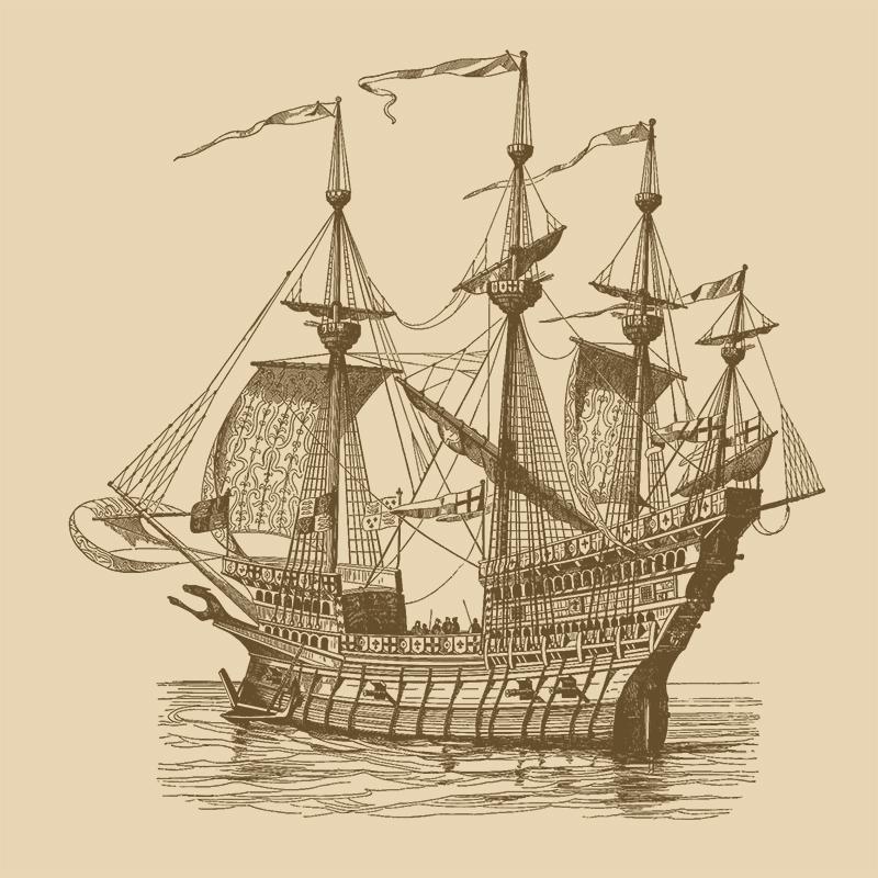 Hemp Caulking of the Mayflower 1606