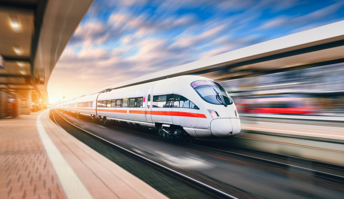 Building and Using Trains for Travel Sustainability